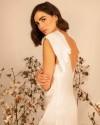 Silk modern wedding dress EROS
